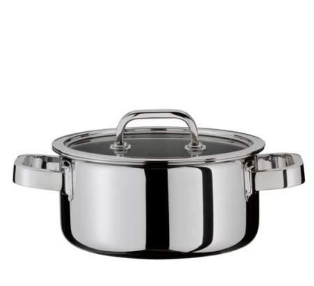 Casserole with lid 16 cm - Finesse -  Spring