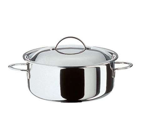Casserole with lid 18 cm - Cristal -  Spring
