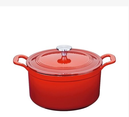 Deep casserole with lid 24 cm - Escale -  Spring